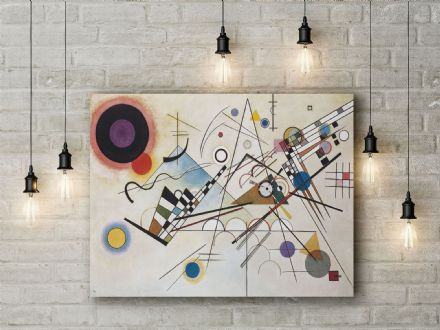 Kandinsky: Composition VIII. Fine Art Canvas.